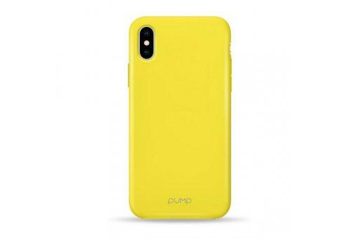 Чехол Pump Acid Case For iPhone X/XS Yellow