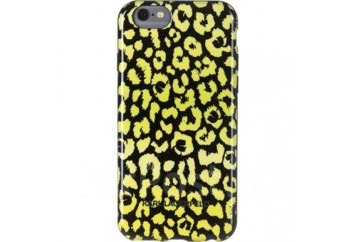 Чехол Lagerfeld для iPhone 6/6S Camouflage Hard Yellow
