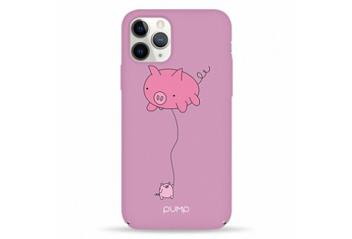 Чехол Pump Tender Touch Case for iPhone 11 Pro Max Pig Baloon