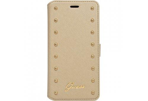 Чехол Guess для iPhone 6 Plus/6S Plus Studded Booktype Cream