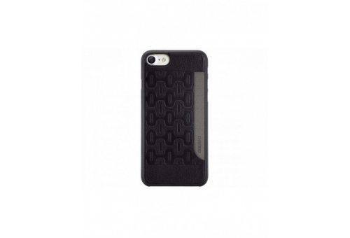 Чехол Ozaki 0.3 + Pocket для iPhone 7. Цвет: черный.