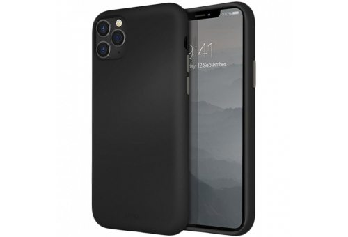 Чехол Uniq для iPhone 11 Pro Max LINO Black