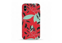 Чехол Pump Tender Touch Case for iPhone X/XS Floral Red