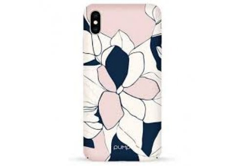 Чехол Pump Tender Touch Case for iPhone XS Max Art Flowers