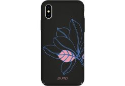 Чехол Pump Tender Touch Case for iPhone X/XS Black Flower