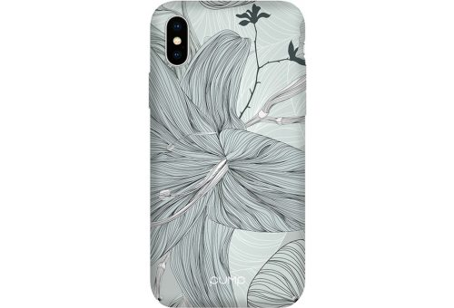 Чехол Pump Tender Touch Case for iPhone X/XS Lilies