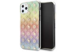 Чехол Guess для iPhone 11 Pro 4G Peony Hard PC/TPU Iridescent multicolor