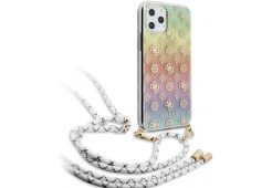 Чехол Guess для iPhone 11 Pro 4G Cord collection Hard PC/TPU Iridescent multicolor