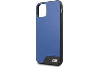 Чехол BMW для iPhone 11 Pro M-Collection Smooth PU Hard Blue