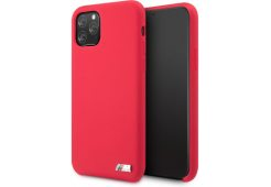 Чехол BMW для iPhone 11 Pro M-Collection Liquid silicone Hard Red