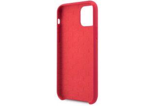 Чехол BMW для iPhone 11 Pro Max M-Collection Liquid silicone Hard Red
