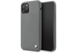 Чехол BMW для iPhone 11 Pro Max Signature Liquid silicone Hard Dark grey