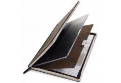Чехол-книга в твердом переплете Twelve South BookBook Vol 2, цвет коричневый.