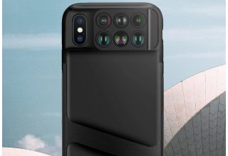 Чехол с объективами Momax CC6 для iPhone XS Max 6-in-1 Lens Case Black