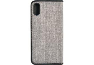 Чехол Uniq для iPhone X Trilby Black