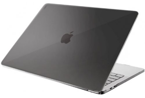 Чехол Uniq для Macbook Pro 13 (2016/2018) HUSK Pro INVISI (Clear Black)