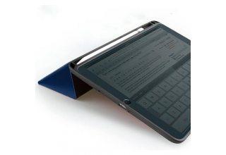 Чехол Uniq для iPad 9.7 (2018) Transforma Rigor с отсеком для стилуса, Blue