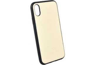 Чехол TORIA для iPhone XR TOGO leather (Hybrid) Hard Crema