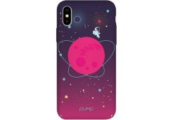 Чехол Pump Tender Touch Case for iPhone XS Max Pink Space