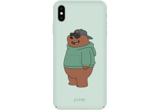 Чехол Pump Tender Touch Case for iPhone XS Max Minty Bear