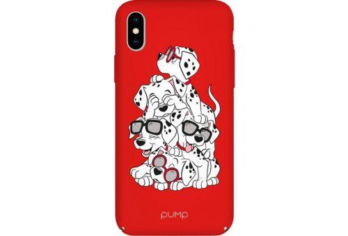Чехол Pump Tender Touch Case for iPhone X/XS Dalmatians