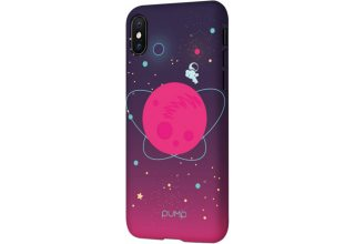 Чехол Pump Tender Touch Case for iPhone X/XS Pink Space