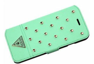 Чехол Guess для iPhone 6/6S TESSI Booktype Light green