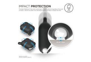 Чехол Elago для AirPods Waterproof hang case Black