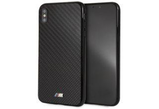 Чехол BMW для iPhone XS Max M-Collection Real Carbon inspiration Hard Black