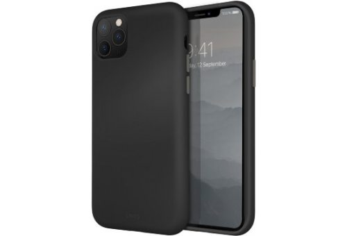 Чехол Uniq для iPhone 11 Pro LINO Black