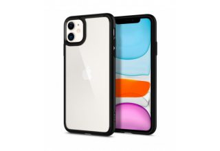 Чехол Spigen Ultra Hybrid, black - iPhone 11