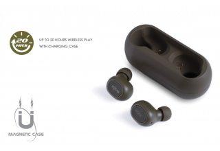 Гарнитура BOOMPODS UK TWS Bluetooth Boombuds-GO Black