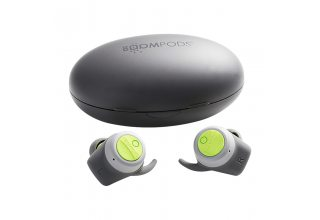 Гарнитура BOOMPODS UK TWS Bluetooth Boombuds-Sport Grey