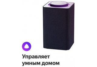 Умная колонка Яндекс Станция Серая
