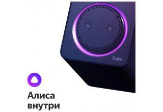Умная колонка Яндекс Станция Черная
