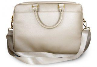 "Сумка Guess для ноутбуков 15"" Saffiano Bag Beige"