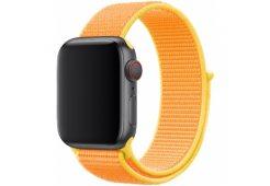 Ремень для часов Apple 40mm Canary Yellow Sport Loop
