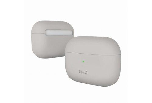 Чехол Uniq для Airpods Pro LINO Liquid silicone Beige