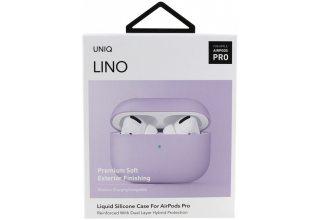 Чехол Uniq для Airpods Pro LINO Liquid silicone Lavender