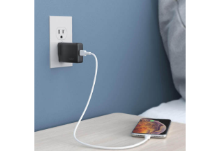 Зарядное устройство AUKEY PA-Y21 oneport Type-c PD 30W wall charger black