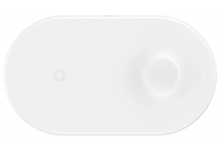 БЗУ Baseus Smart 2in1 Wireless Charger White
