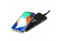 Беспроводное СЗУ Guess Wireless Glossy Black/Silver