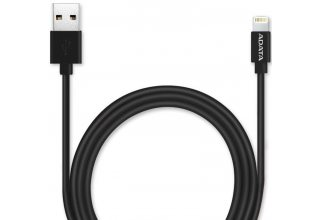 ADATA MFi Certified Lightning Cable for iPhone iPad Black 1m Fast Charging
