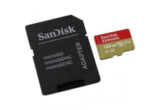 SanDisk Micro SDXC Extreme 128G SDSDQXA1-128G v30/a2 160mb/s