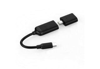 Адаптеры-переходники 2 шт. Hyper HyperDrive USB-C to 4K60Hz HDMI & Mini DisplayPort Adapter. Адаптер