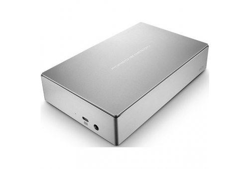 Внешний жесткий диск HDD LaCie 6 TB P923 Porsche Design Mobile Drive (OS Windows/Mac OS) серебро, 3.