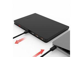 Внешний аккумулятор YOOBAO Power Bank PD 30BOOK, черный, страна ввоза - Китай