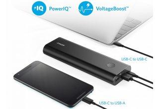 Внешний аккумулятор PowerCore+ 20100 USB-C UN Black Offline Packaging V3