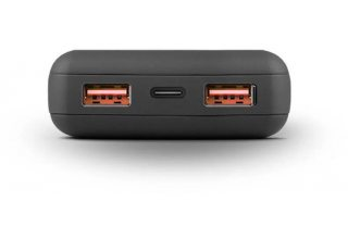 Uniq АКБ внешняя Fuele Max 20000 Li-Pol USB-C PD60W +2USB QC3.0 (total 66W) Black