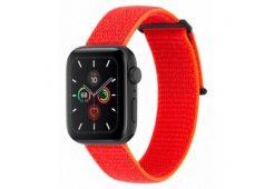 Ремешок Case-Mate для Apple Watch 38-40 мм 1, 2, 3, 4, 5 серии. Цвет неоновый оранжевый.